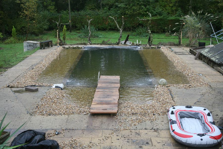 The home of littlethings and the work of - How to make a natural swimming pool ...